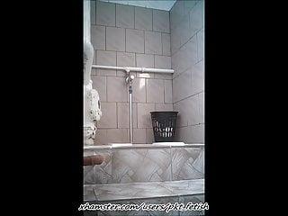 Public pissing hidden cam movies Spy cam - public bathroom 13