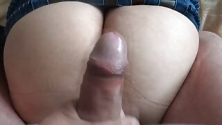 I enjoy my sister-in-law, she loves me to cum on her ass