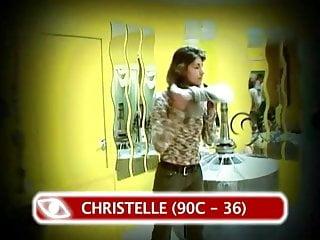 Drunk sex orgy lingerie 2004 Christelle - casting miss maximal 2004