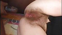 Hairy mature creampie
