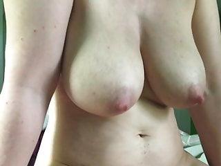 Cumshot big boobs Big boobs cameltoe slide cumshot
