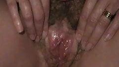 Mrs B wet cunt closeup