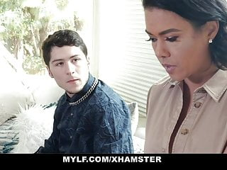 Hot milf cheats on her husband Mylf - hot milf cheats on husband with hot stepson