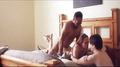 HUSBAND CALMS WIFE DOWN DURING CUCKOLD