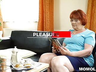 Guy uses the plow dildo Delivery guy gets to plow redhead bbw gilf marsha