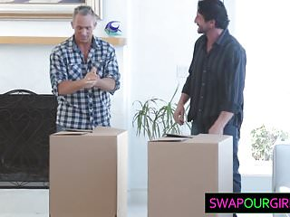Young teen swap - Hot teens swapping dads