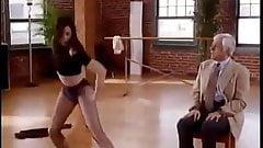 Paula Marshall sexy dance