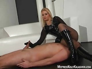 Make your woman orgasm slutload The blonde makes you earn your orgasm slave