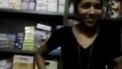 Telugu girl sex inside books store