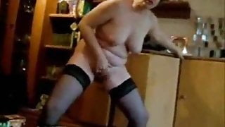 forced to masturbate standing