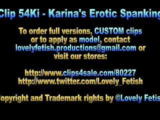 Erotic bdsm video Clip 54ka karinas erotic spanking - sale: 9
