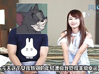 Japanese hidden video interview sex - Tokyo fengyuelou chinese man is fucking a japanese womon