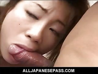 Find asian transexual Pretty babe finds her hairy pussy stuffed with meat after a
