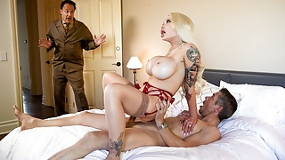 Caught His Wife Cheating And Decided To Watch! - at ebrazz.tv
