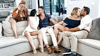 TeamSkeet - Daughters Swapping and Fucking Step Dads Compilation