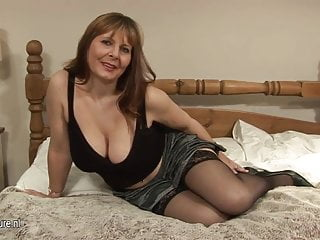 Mature sex breasts Big breasted mature slut going wild