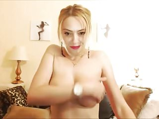 Busty and nice boobs Wild blonde courtesan with fuckable lips and nice boobs