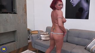 Mature modern wife with hungry ass and pussy