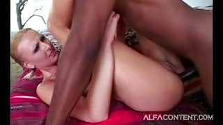 Big titted MILF being analyzed and facialized by BBC