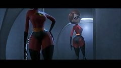 So that's why they call her Mrs Incredible lol I'm funny