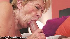 LustyGrandmas Vintage GILF Wants A Big Dick In Her Bush