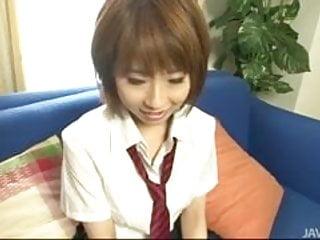 Milf bent and fucked Yui misaki in her school uniform bent and fucked