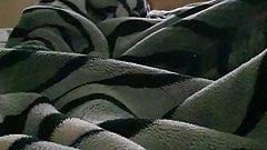 Virgin Muslim caught on camera masturbating under blanket