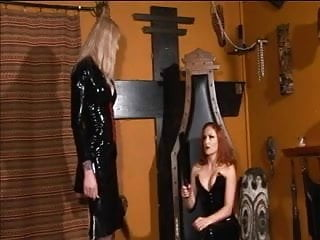Michigan jeri irwin redhead tall - Redhead mistress spanks an ultra-tall skinny blonde
