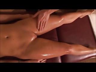 Girl gets deep erotic massage Hot massage gets erotic
