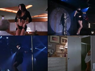 Demi moore pic strip tease - Demi moore striptease scenes split screen compilation