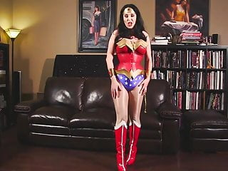 Transsexual transformations - Wonder woman transforms