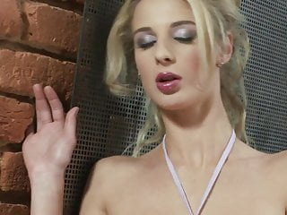 Cristy cannon nude Masturbation of a blond cannon