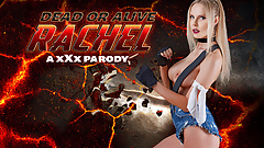 Curvy Blonde RACHEL Gets Ass Fucked In DEAD OR ALIVE Parody