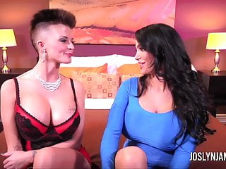 Joslyn james big black cock - Joslyn james and amy anderson take turns giving orgasms