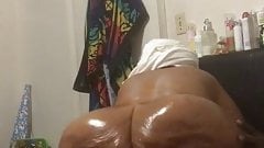 My 67 year old monster booty bbw gilf part 4 quick and cream