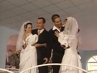 Filmed bride sex - Bride foursome sex anal dp