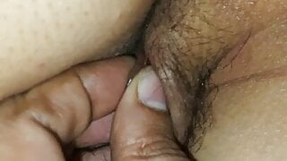 Fingering sexy wife