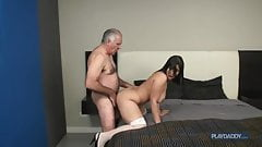 Old Grandpa very nice fuck young Pussy