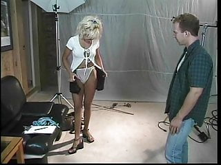 Cameraman gets to fuck Blonde slut fucks cameraman after photoshoot