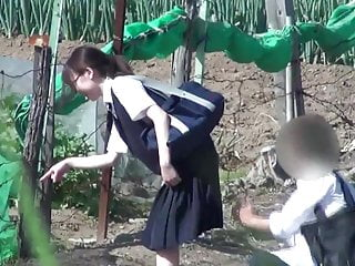 Erotic upskirts Erotic voyeurism - turn up the skirt of the girl student