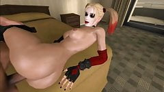Harley Quinn 3DSex Compilation