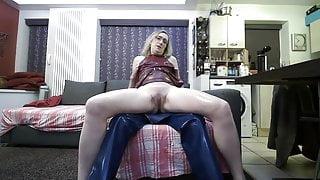Latex Rubber Sucking and Fucking - Latex John and Latex Lisa