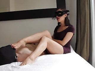 Exquisite xxx Exquisite femdom foot humilation and teasing