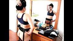 Filipina Gina Jones at Hustler, Hollywood