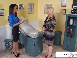 Hustler jaymes jessica - Jessica jaymes and sarah vendella sucking a big hard dick