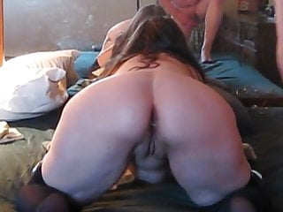 Ass with cum Close up me getting fucked in the ass with cum in my ass