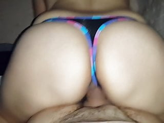 Mexican thong ass Ridding thong big ass