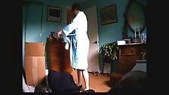 Wife naked on hidden cam