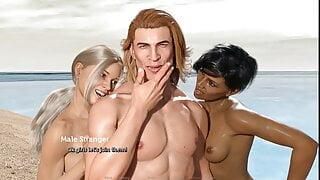 The Adventurous Couple:Hot Wife Public Interracial-Ep56