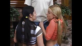 57 – cum play and swallow with girl who loves cum
